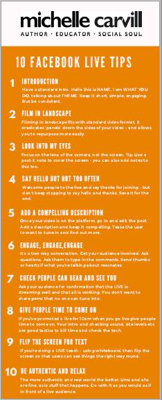 10 Facebook Live Tips