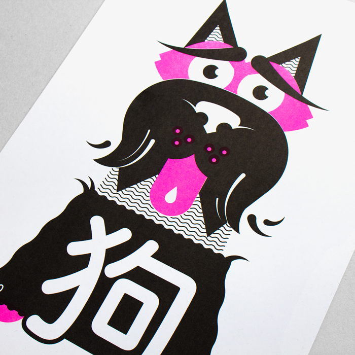 Zodiac Posters Set - Print, illustration
