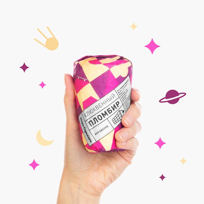 Park Gorkogo Ice Cream - Packaging