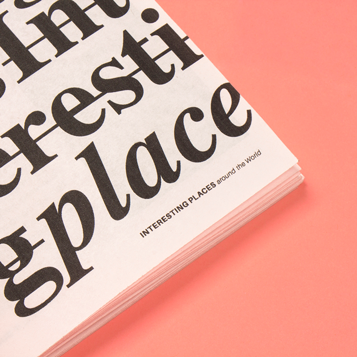 Interesting Places Zine - Editorial, books