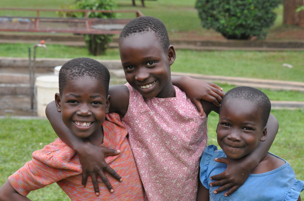Safe and loving environment = happy children