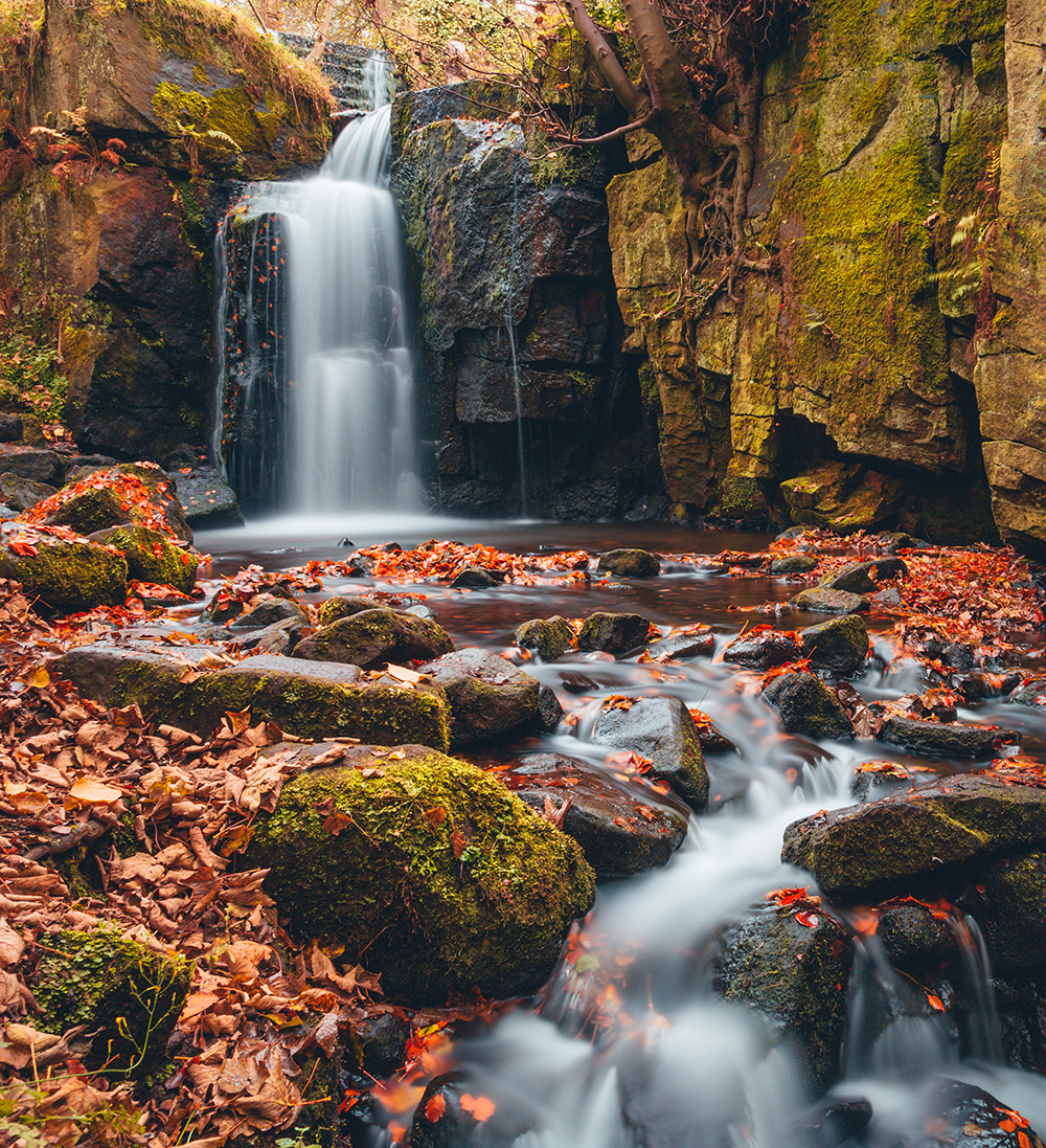 Long Exposure at Lumsdale Falls