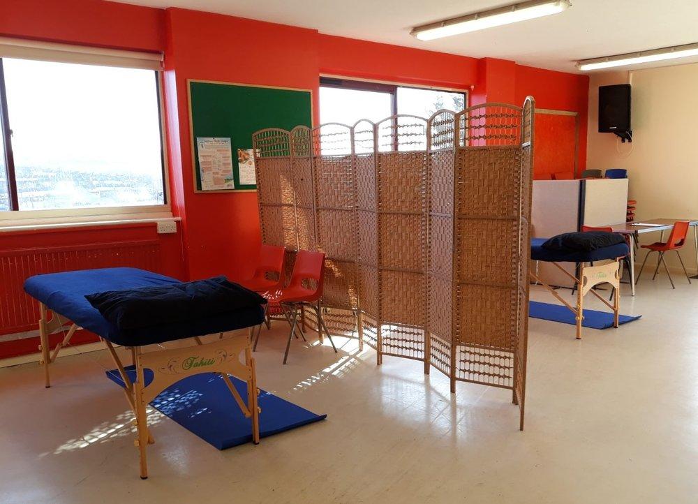 Brighton multi-bed acupuncture clinic