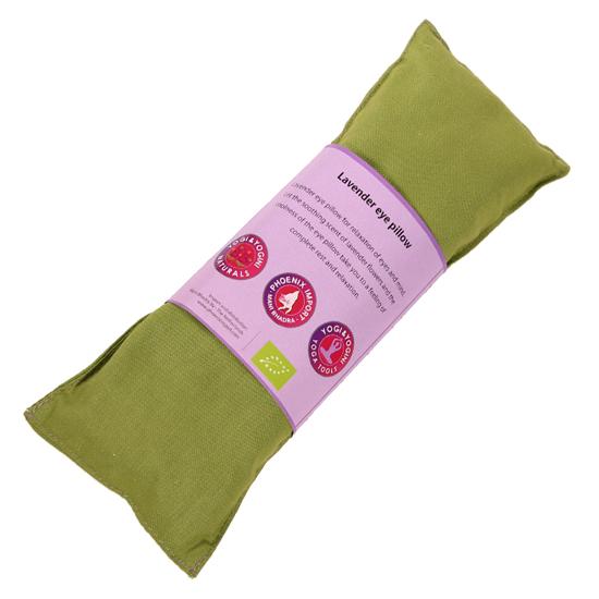 Oogkussen lavendel - groen