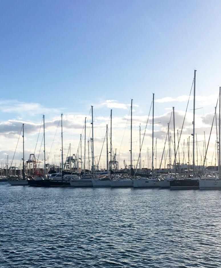 Puerto de València, donde atracarán los veleros de la Traslatio 21