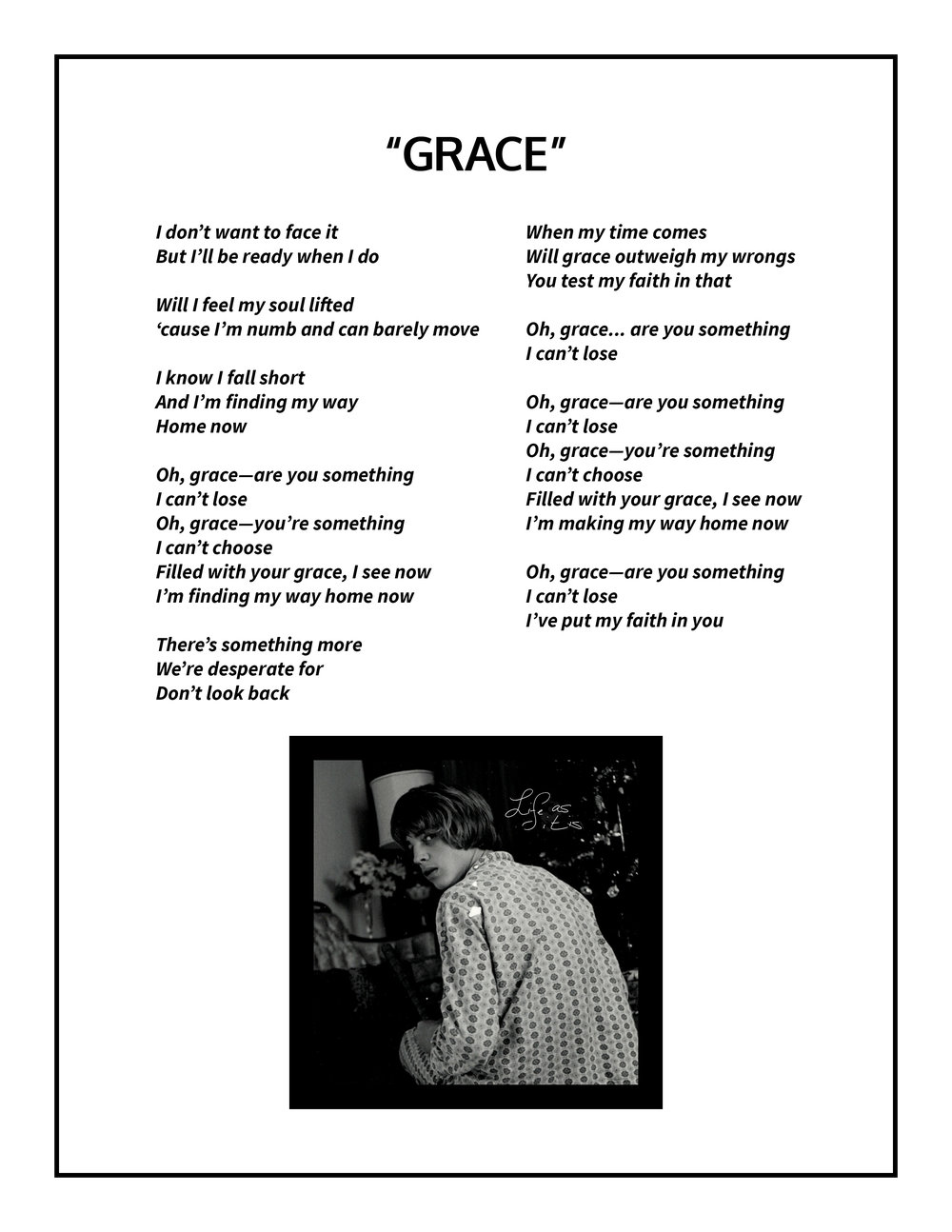 Grace Lyrics
