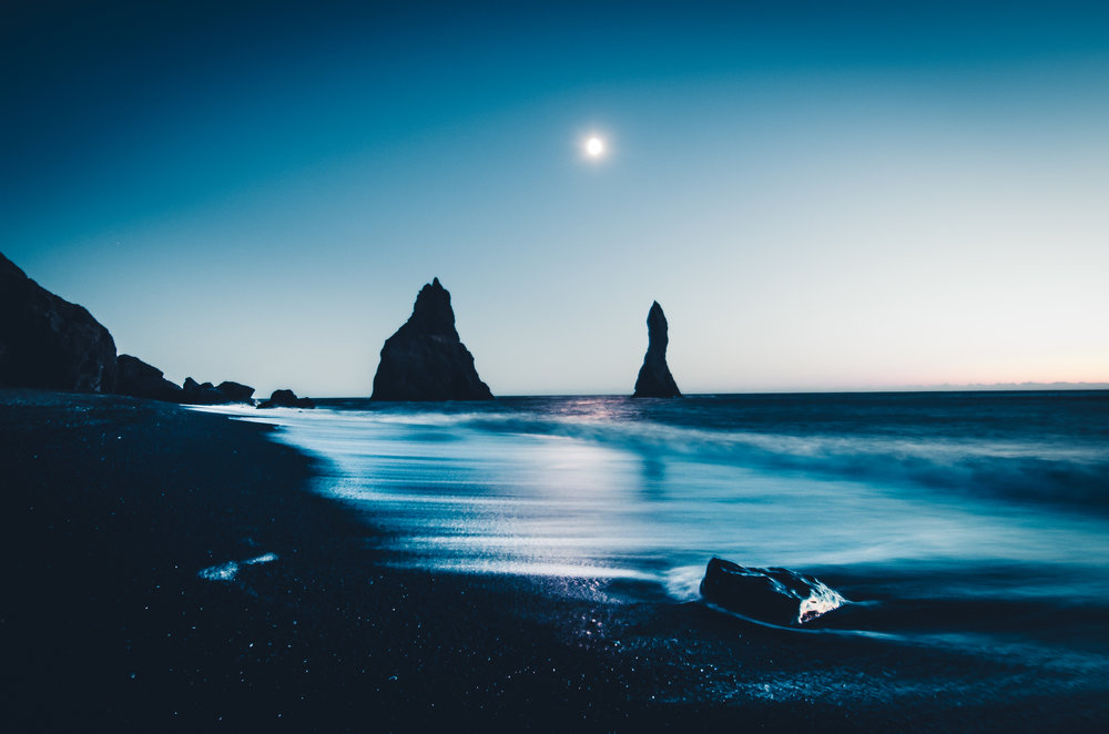 Fairytale At Reynisfjara Beach