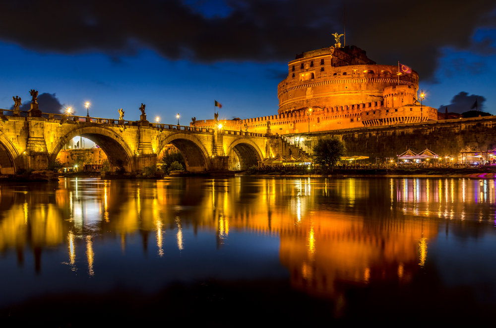 Castel Sant' Angelo By Night