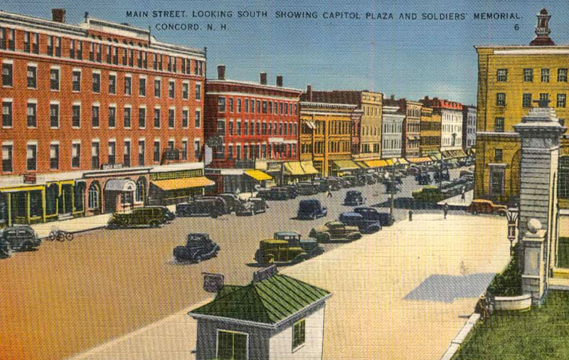 Postcard of Concord NH