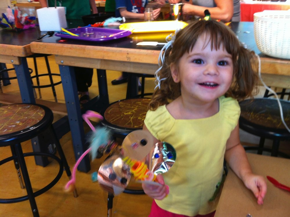 Visiting Artist at Children's Museum