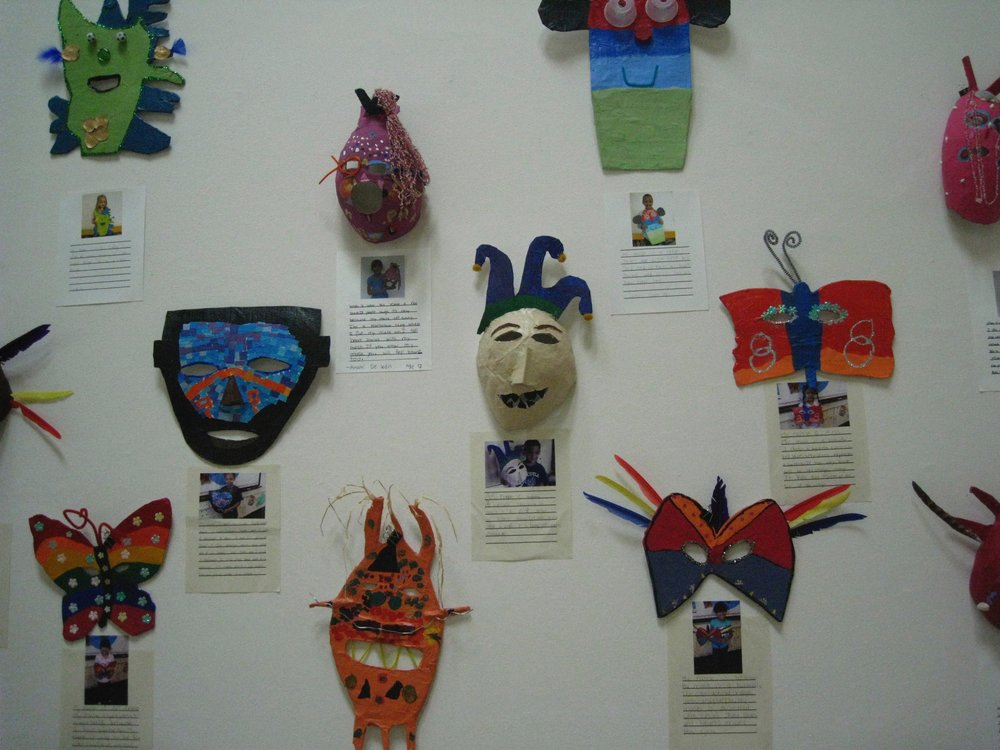 Masks Project at MFA with R.Hernandez School