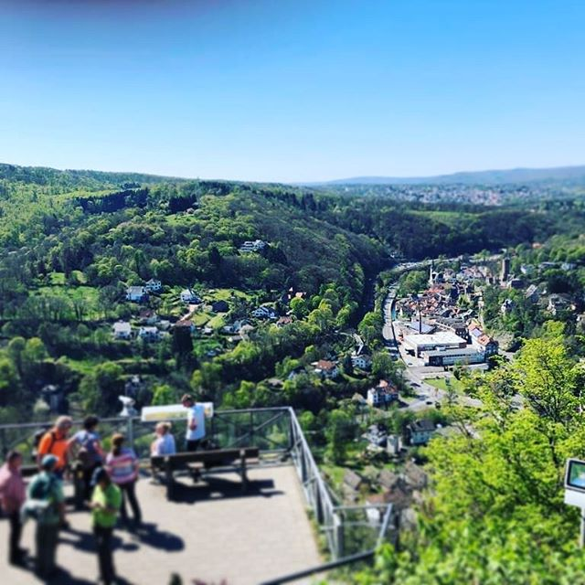 View of Eppstein in the #taunus #mountain