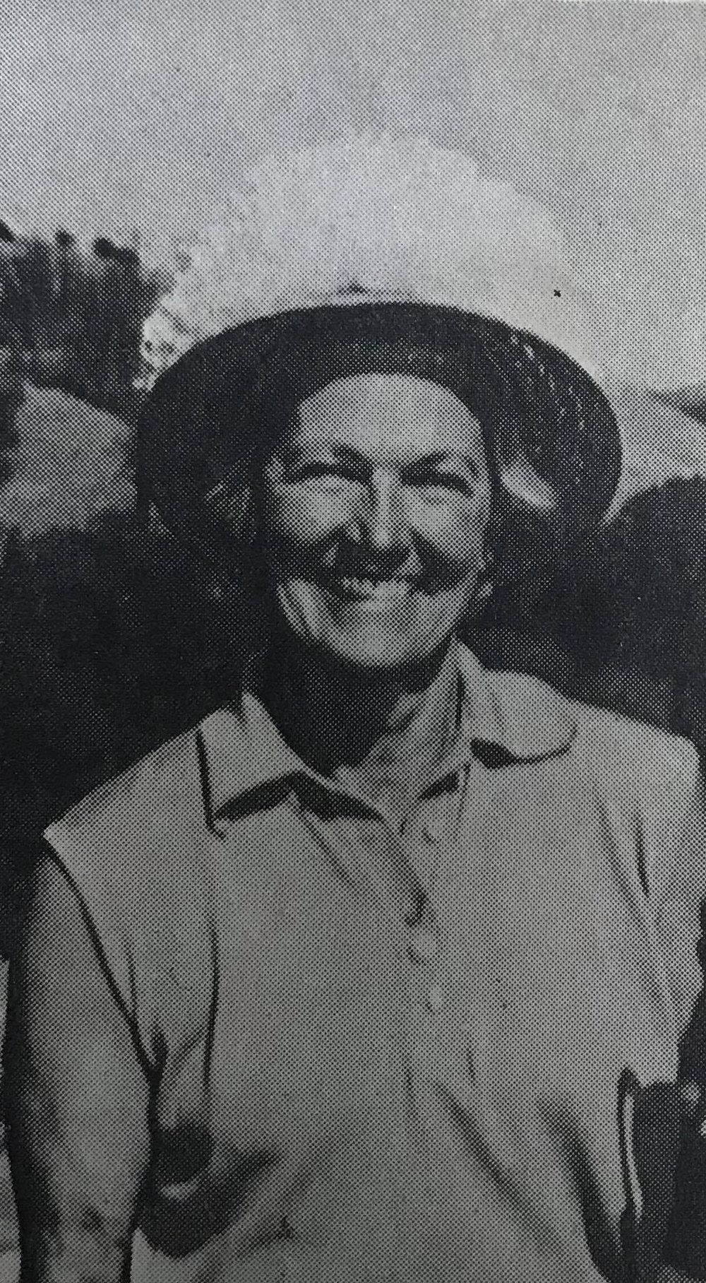 Doris Brooker, 1974 PWGA Tournament Chairman