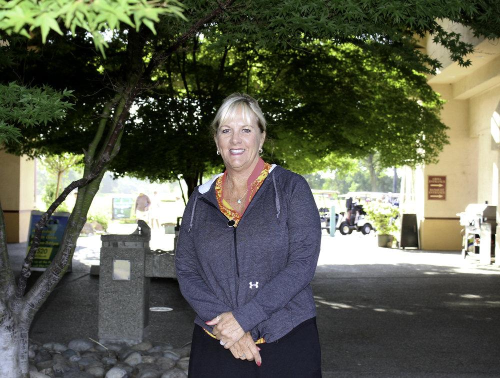 Karen Mabe, PWGA Tournament Director.