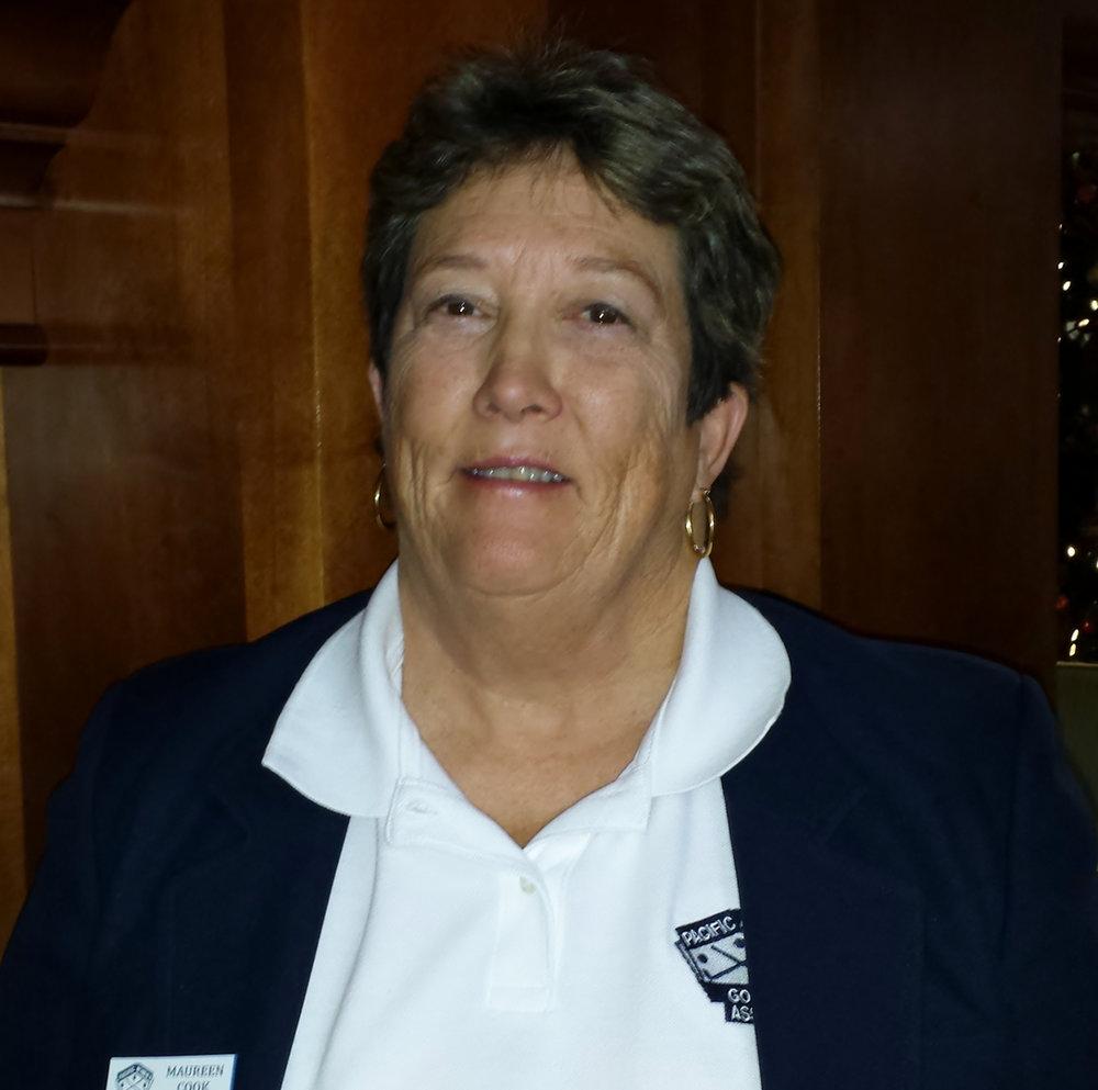 Maureen Cook, PWGA Secretary