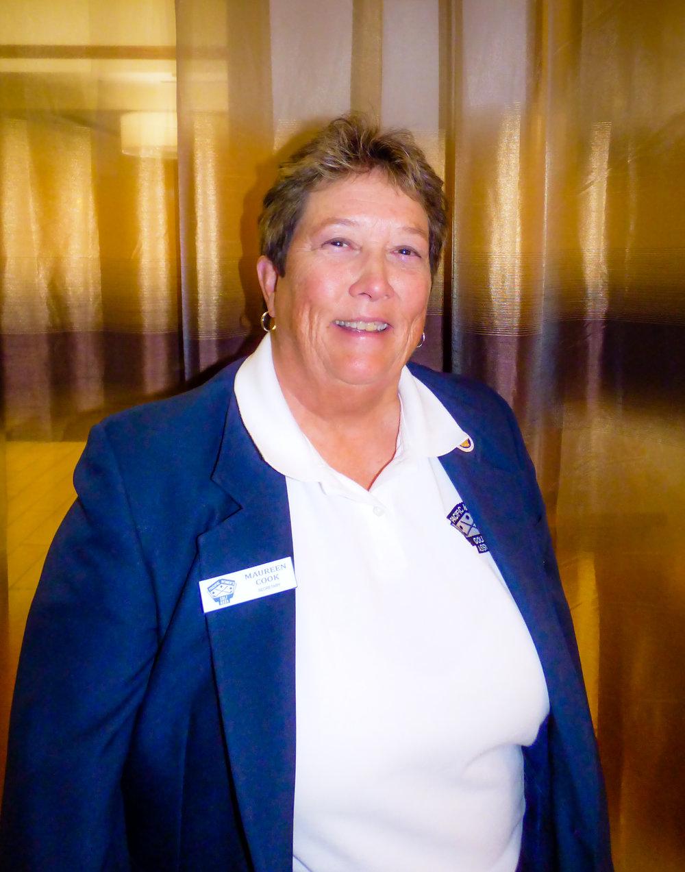 Maureen Cook, Secretary