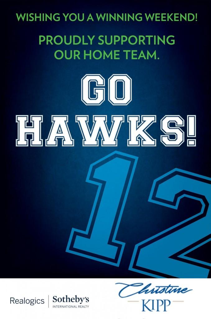 12th Man Go Hawks!
