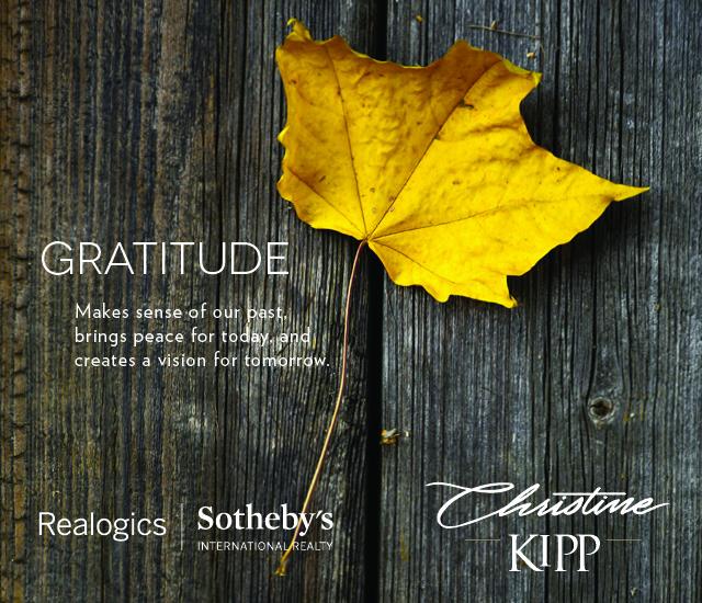 Happy Thanksgiving Christine Kipp