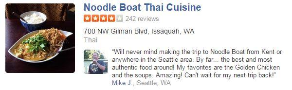 Noodle Boat Thai