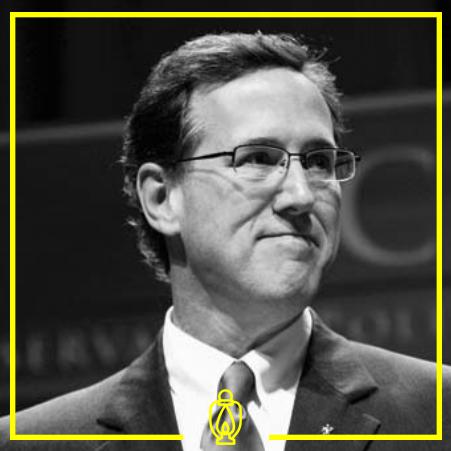 Rick Santorum - Santorum is a Right-wing Republican politician who served as a Senator for Pennsylvania from 1995-2007.