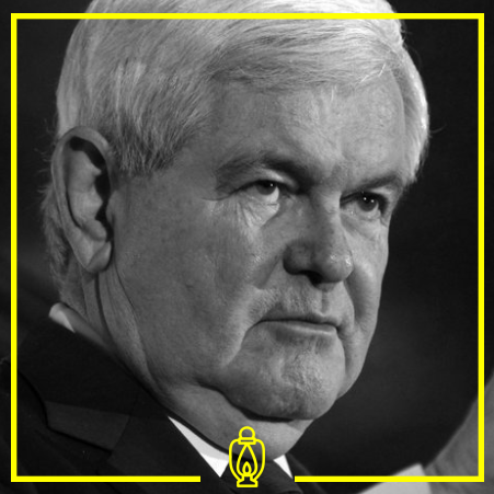 Newt Gengrich - Gengrich is a former representative from Georgia's 6th Congressional district. He served from 1979 until 1999. He also served as the Speaker of the House of Representatives from 1995-1999.