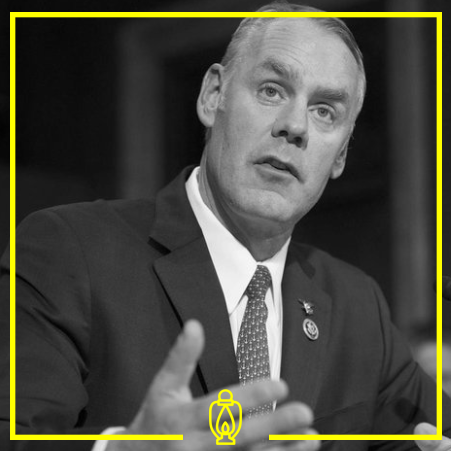 Ryan Zinke - Zinke is a businessman serving as the US Secretary of Interior for the Trump Administration.