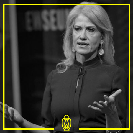 Kellyanne Conway - Kellyanne Conway is a pollster, political consultant and Counselor to President Donald Trump.