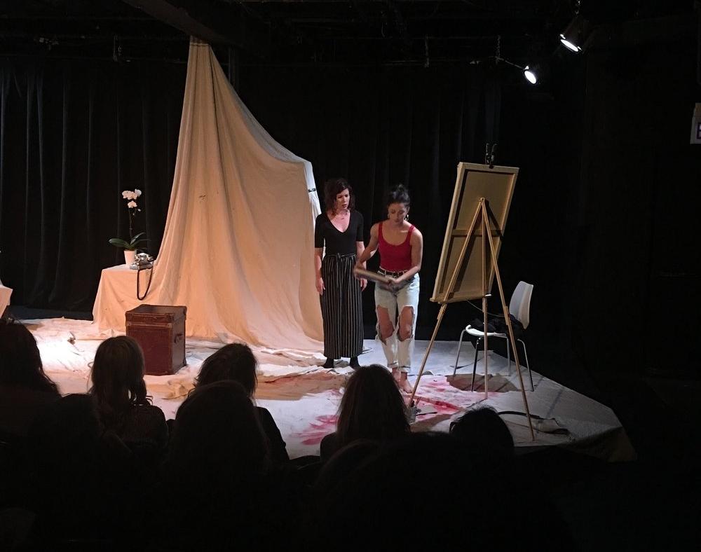 Carley Marcelle Madi and Adriana Leonard in Batbrains directed by Maeli Goren.