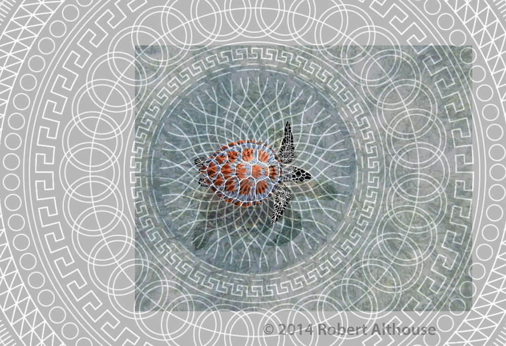 """Turtle Island Mandala"" by Robert Althouse"