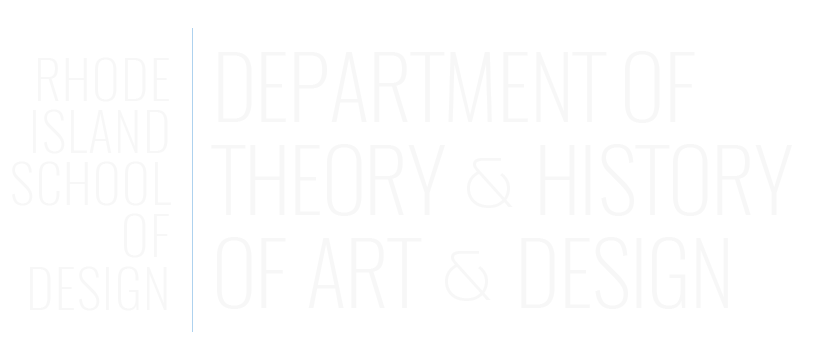 Theory and History of Art and Design