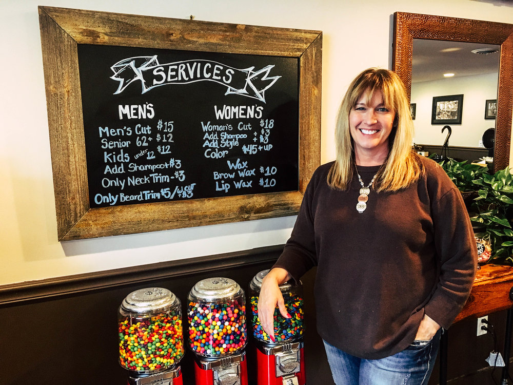 Lori LaPenna opened the Downtown Gentlemen's Salon at 32 Merchants Row in March.
