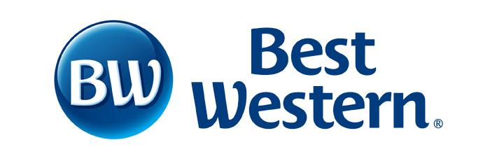 Best Western's logo.