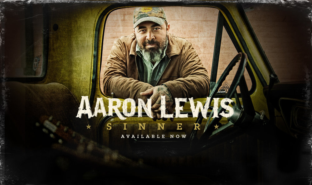 Lewis will perform at the Paramount Theatre in Rutland, Vermont on September 6th at 8pm. Photo courtesy of  Aaron Lewis Music.