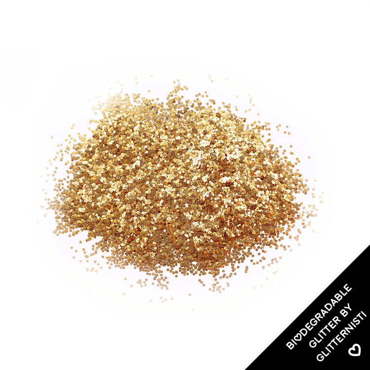 Eco Gold -ekoglitter