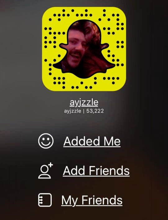@ayjzzle on Snapchat - Snapchat image