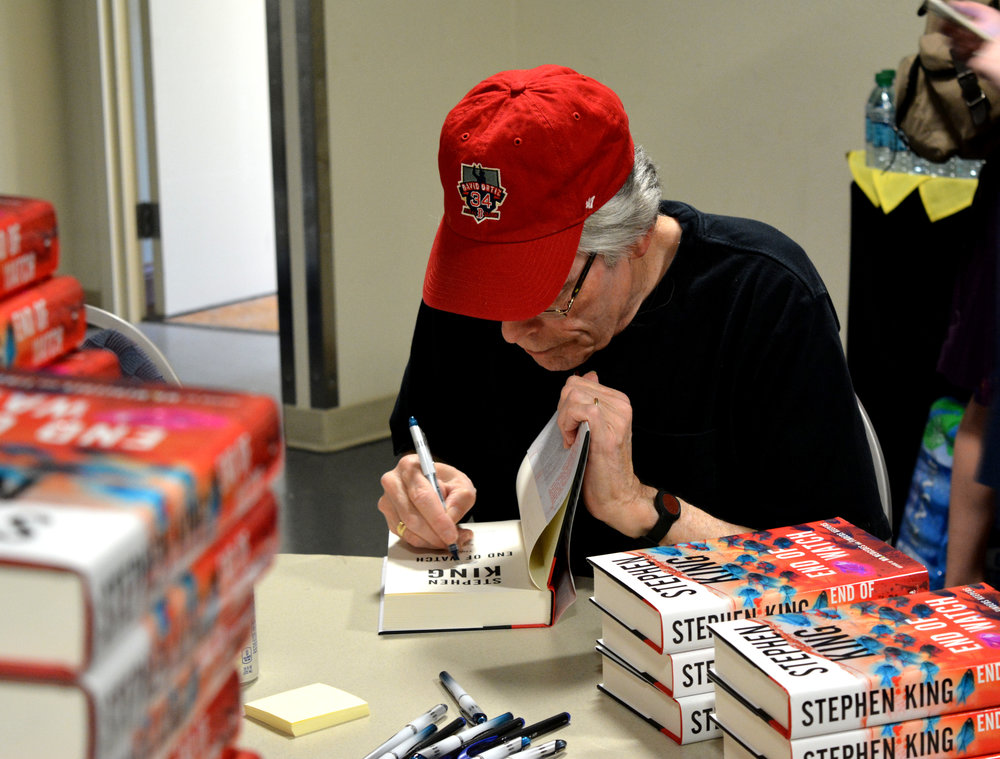 Steven King Book Signing