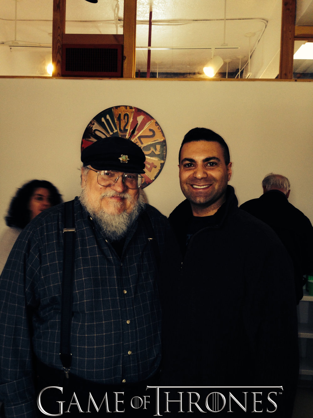 HBO's Game Of Thrones: George R R Martin