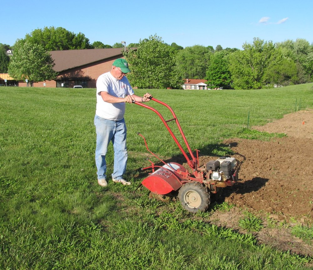 Tilling up a new plot