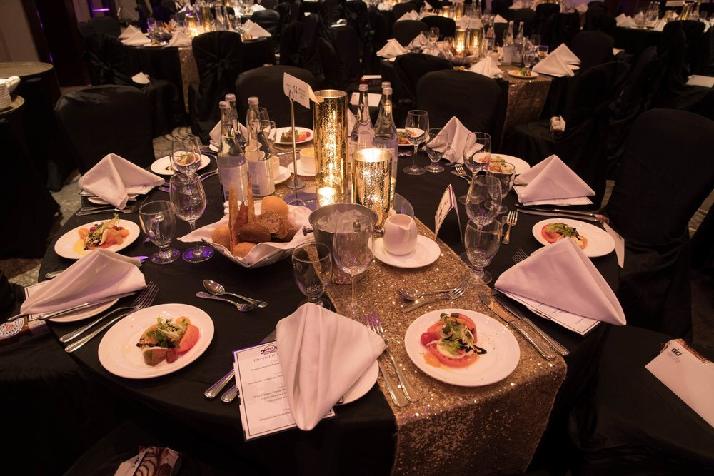 Included with the Gala Dinner is a full course meal, entertainment, featured products, product coupons and a memorable night!
