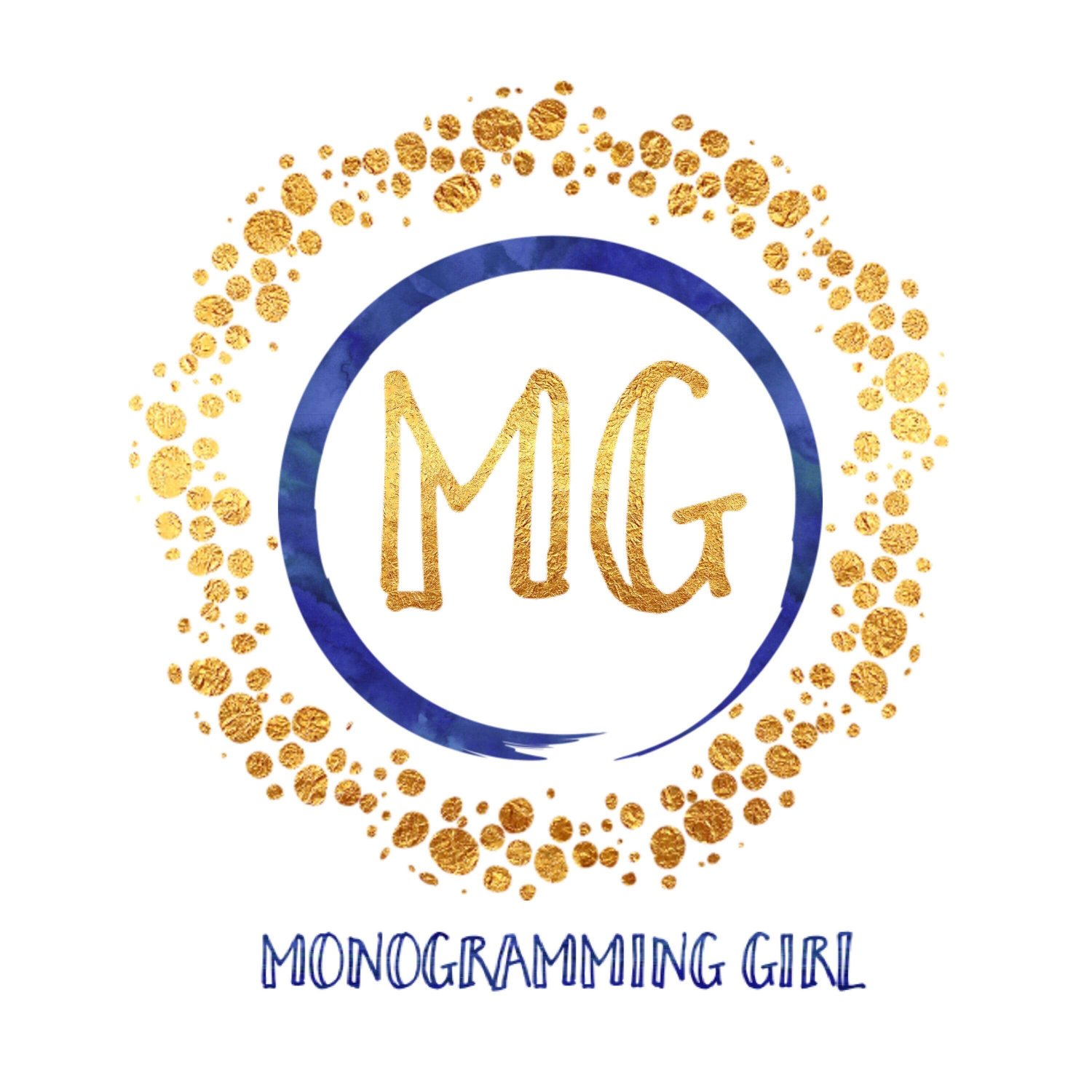 Mongramming Girl