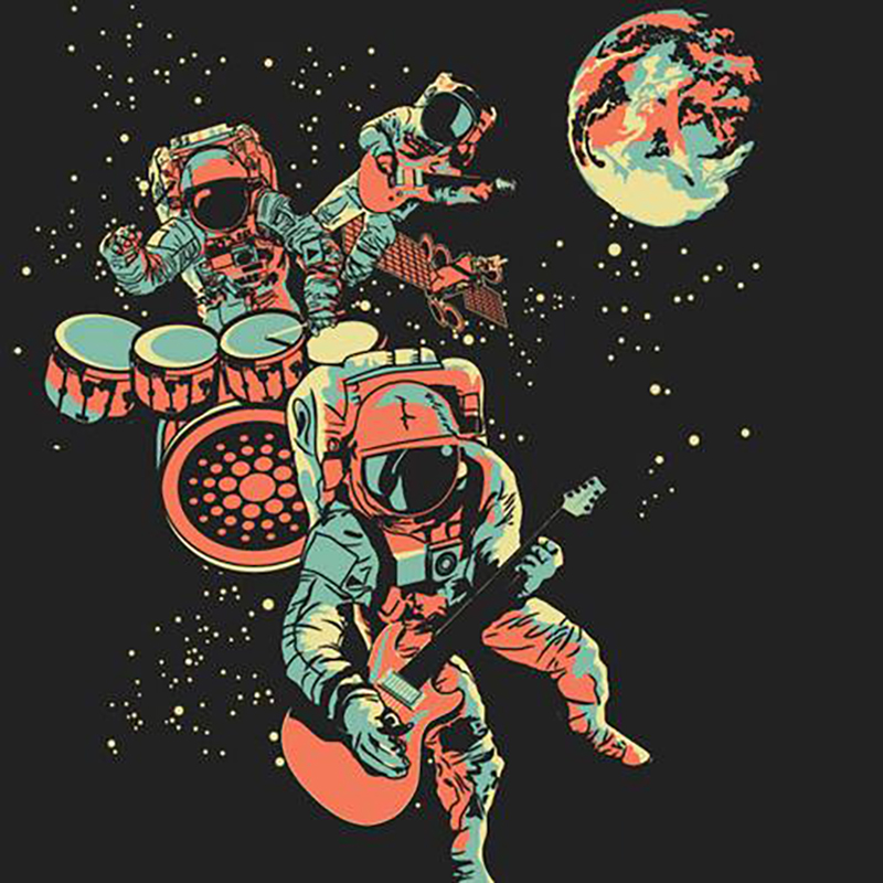 space captain — Playlists — Fresh Pots! | Curated Music by Real Humans
