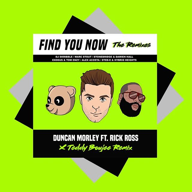 THE REMIXES @duncanmorley @richforever @teddyboujee @djskribble @djmarcstout @realstonebridge @djexodusnyc @djtomenzy and more!! #findyounow
