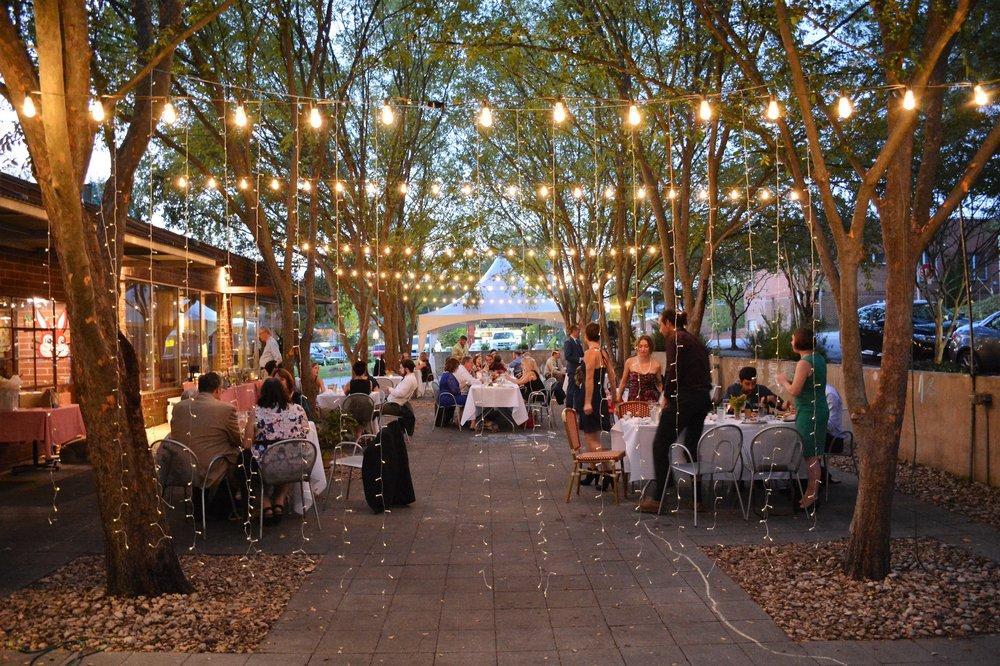 September Wedding Reception at Big City Bread Cafe