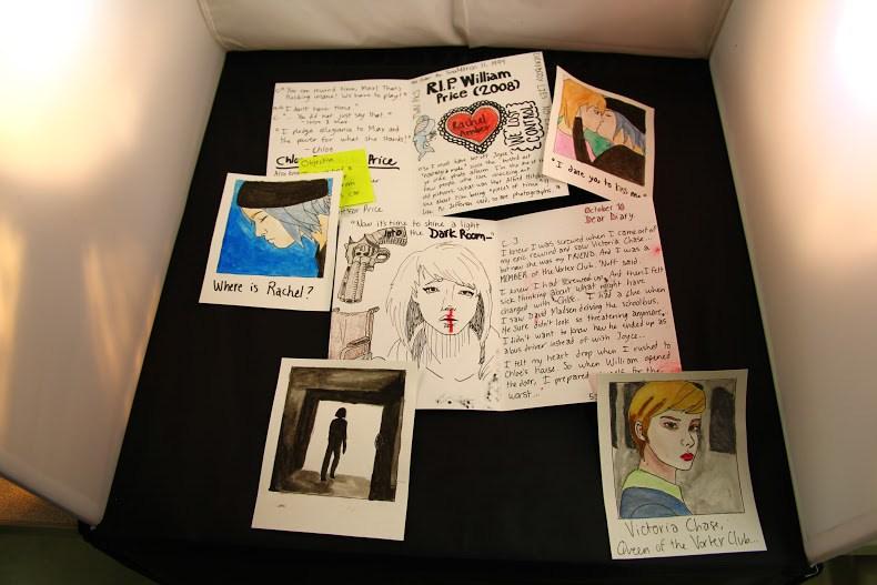 Artist Book based on  Life is Strange