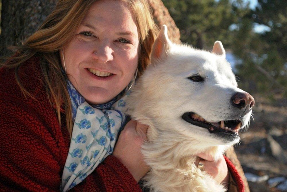 Karen Auvinen with Elvis by Rowan Turner.jpg