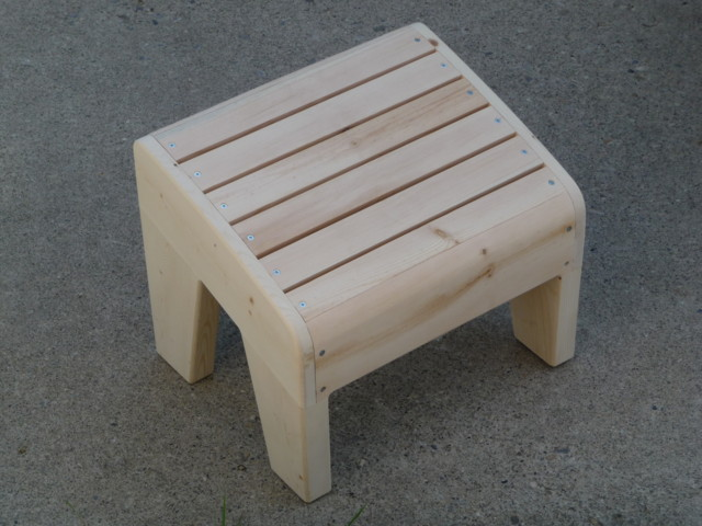 Adirondack Chair Foot Stool