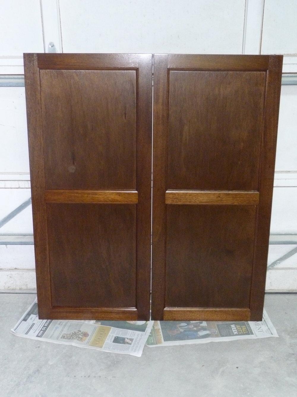 Mahoghany Cabinet Doors
