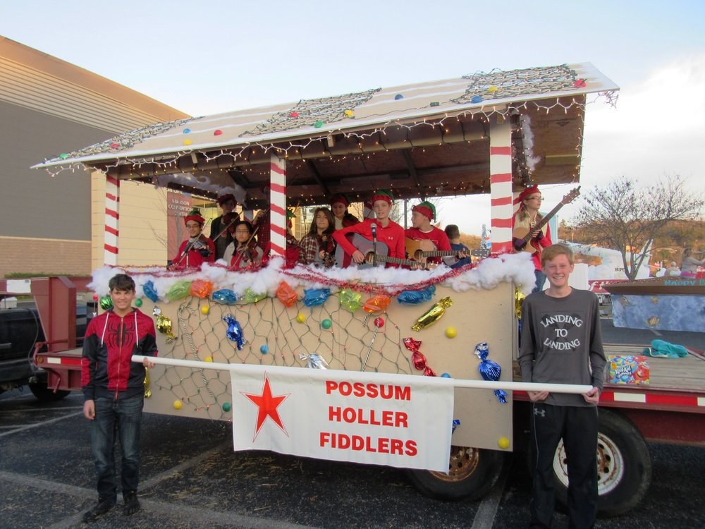 Our beautiful float