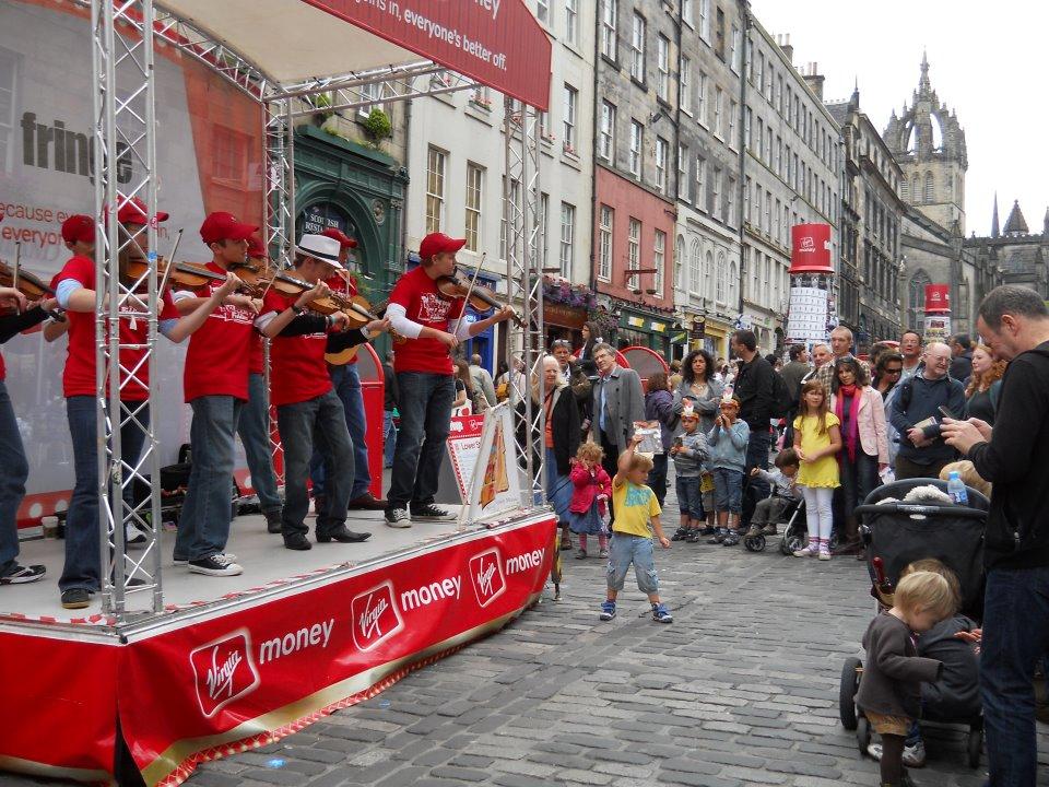 International Possum Holler Fiddler Performance