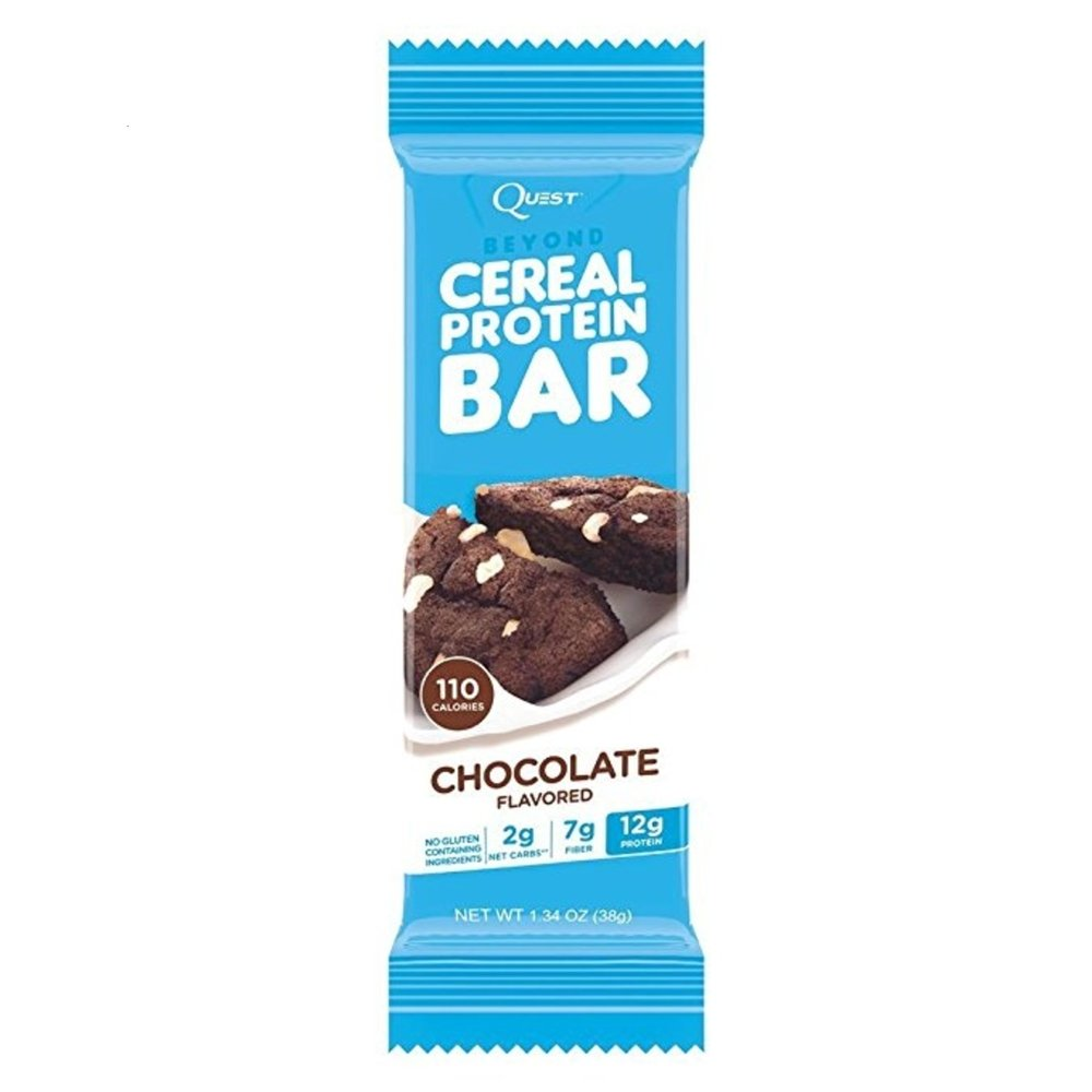 Quest Nutrition Beyond Cereal Protein Bar, Chocolate Flavor